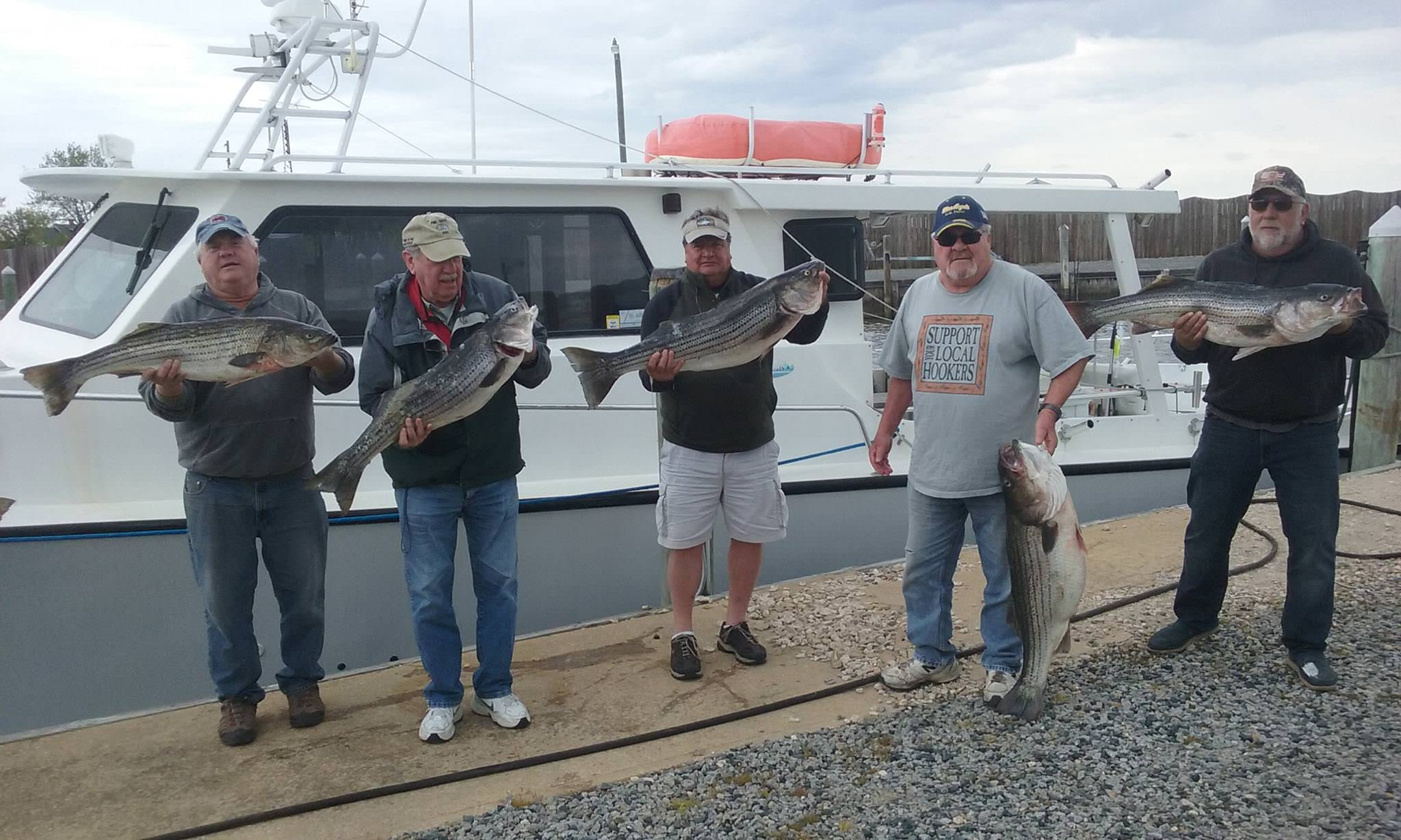 Great Rockfish Catch On The Chesapeake Bay!