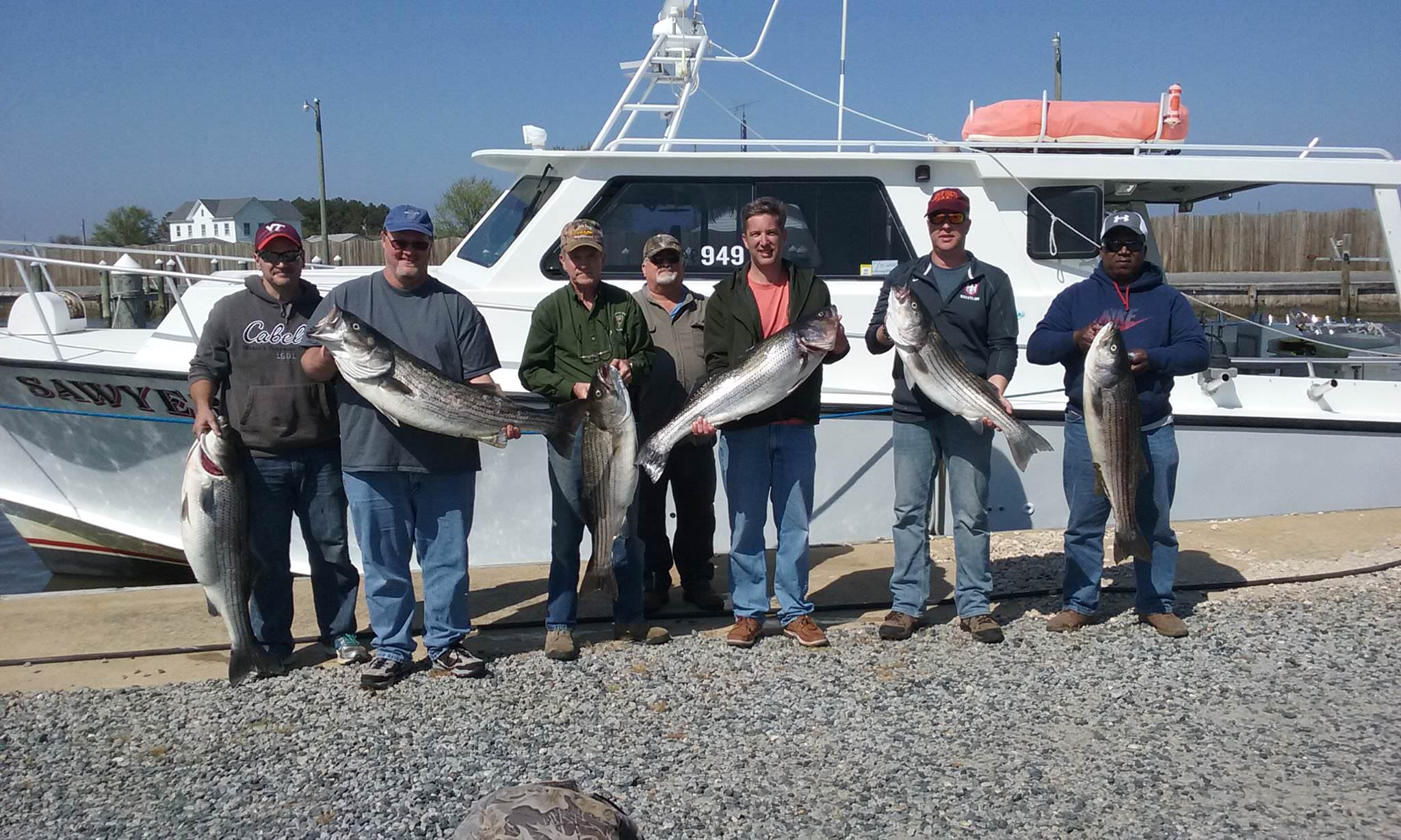 Another Group Of Happy Longtime Fishing Customers!
