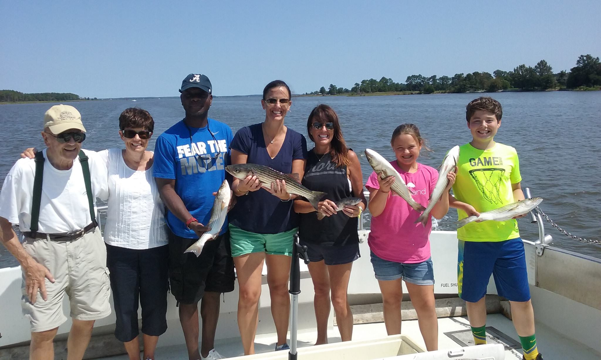 Another Happy Chesapeake Bay Fishing Charter!