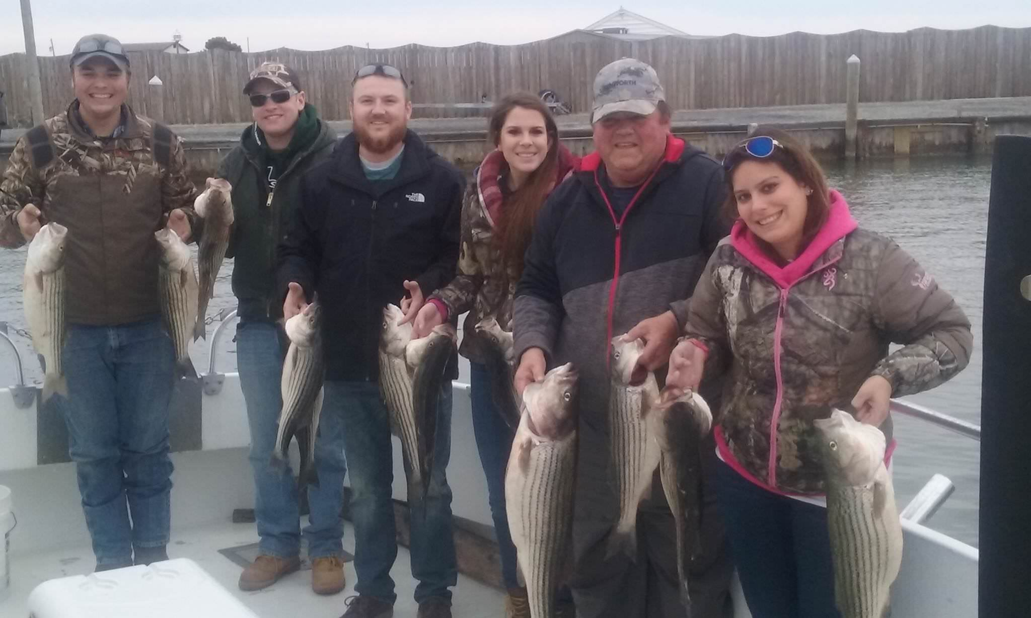 Fall Fishing for Rockfish on the Chesapeake Bay!