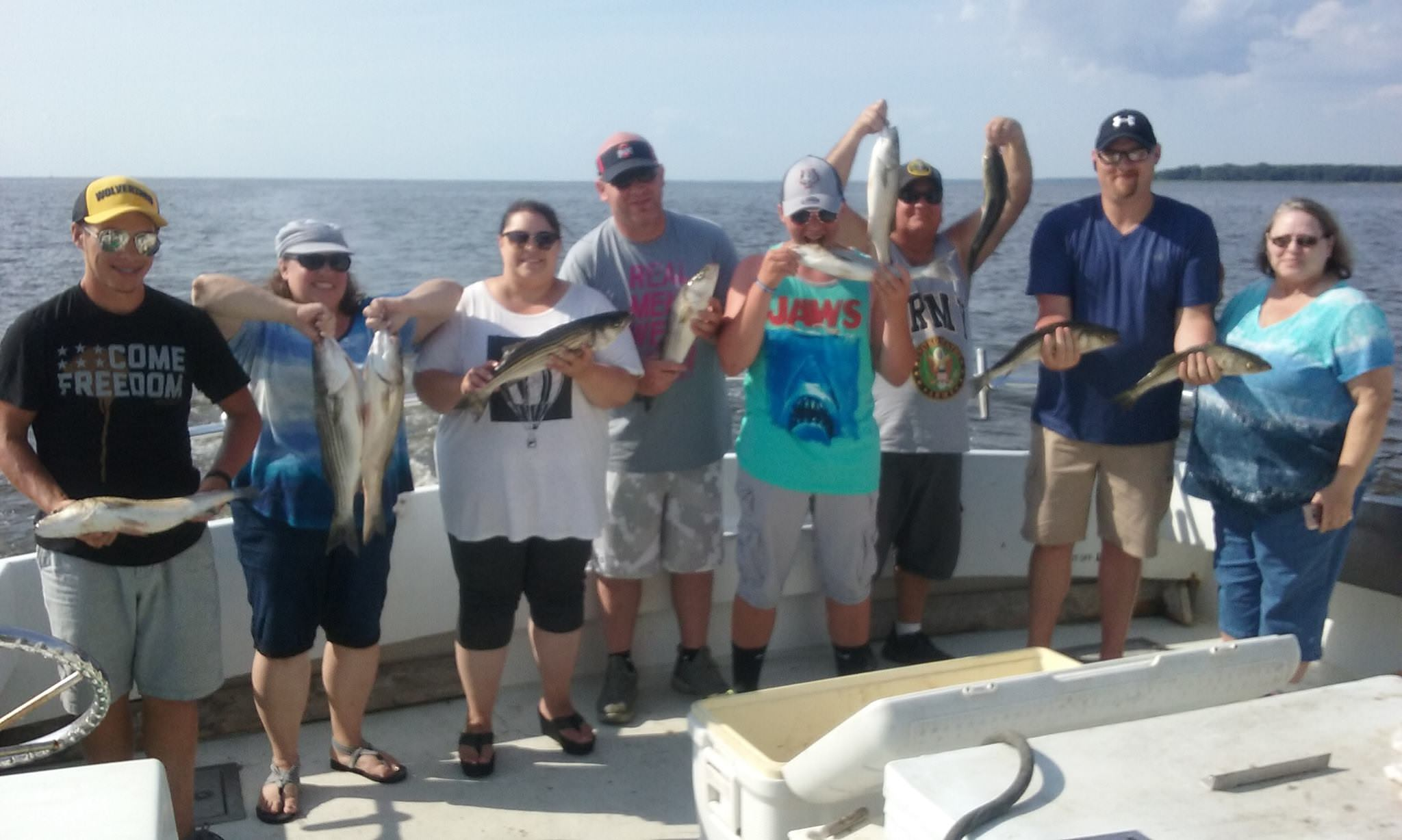 More Rockfish from the Chesapeake Bay!