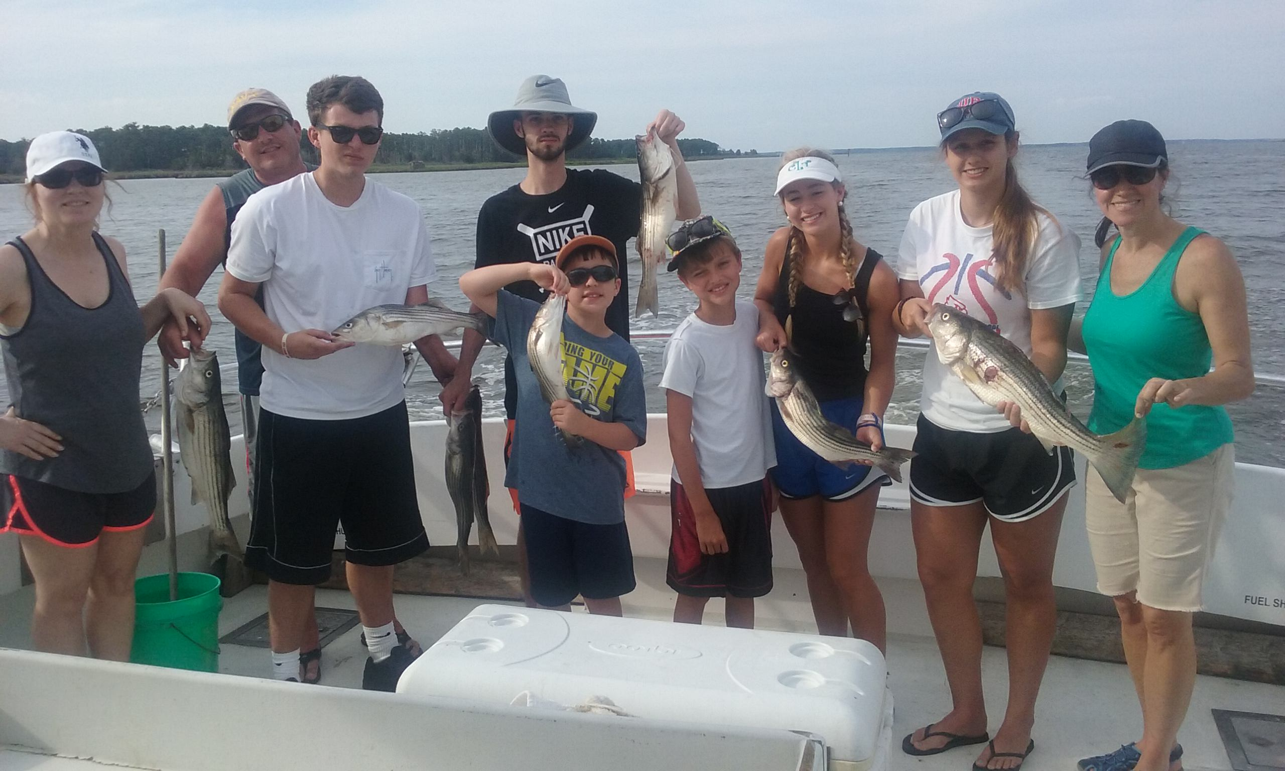 Family Fishing Trips on the Chesapeake Bay!