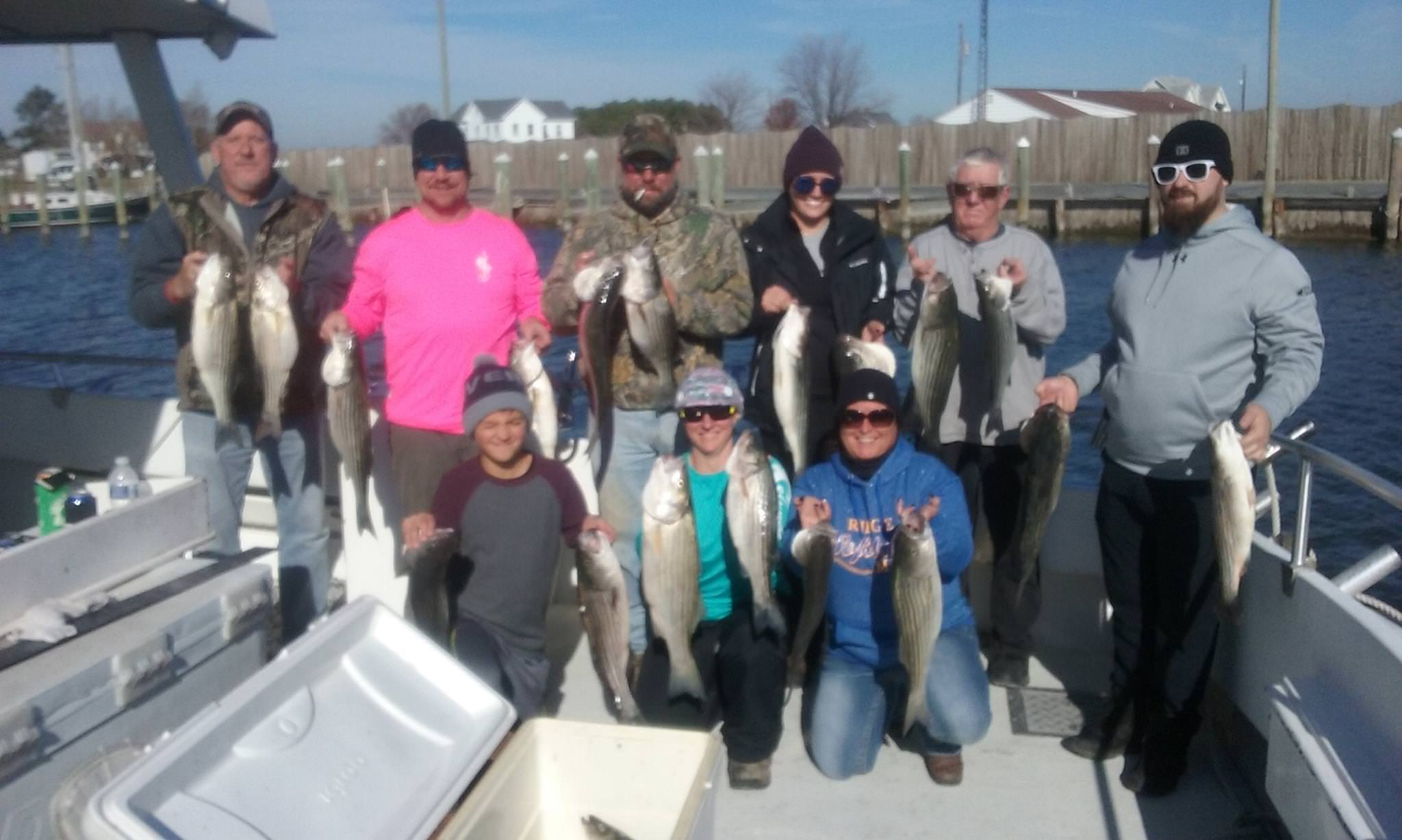 Longtime Customers With A Limit Of Rockfish!